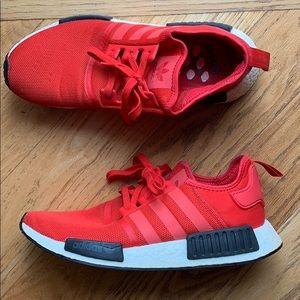 Red adidas NMD